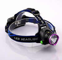 Q5 Head lampe frontale Headlamp 1600lumens 3 Modes for Cycling Fishing Hunting