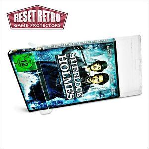 100 x Klarsicht DVD Schutzhüllen Verpackung protectors case 0,3 mm box filme