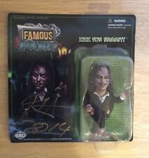 SIGNED SDCC 2014 Kirk Von Hammett Famous Zombies Jr Purple RARE Metallica +PIC