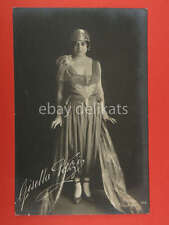 GISELLA POZZI attrice teatro cinema muto silent movie photo foto