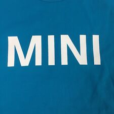 BMW MINI Men's T-shirt Teal Official XL Made in Portugal