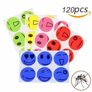 MoskiPatch 120 Pcs Natural Mosquito Repellent Sticker Patches For Children kids