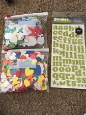 Huge Lot Of Scrapbooking Craft Stickers