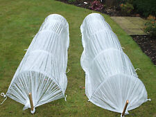 garden cloche special offer 2 x 4m tunnel polytunnel galvanised plants growing