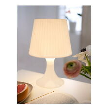 "IKEA white table lamp 11"" soft light modern lighting LAMPAN"