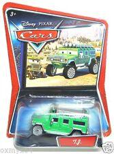 Disney Cars Supercharged Walmart T.J. TJ Hummer TUF GUE Error No Shield Card!