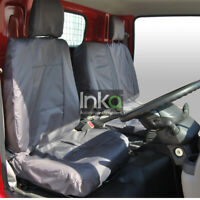 Front INKA Tailored Waterproof Seat Covers Grey Fits Nissan NT400 MY14 onwards