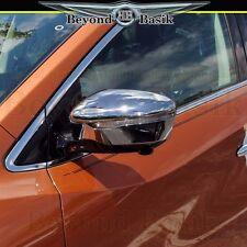 Fits 2015-2017 Nissan Murano Juke Chrome Mirror Covers Overlays Trims Caps