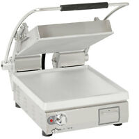 "Star PST14 Pro-Max 14"" Single Panini Grill Smooth Alum Plates No Timer"