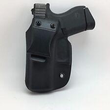 Black Kydex IWB holster LH Glock 26/27/33
