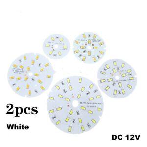 2pcs DC12V LED 3W 5W 7W 9W 12W 15W 5730 SMD Lamp Plate Source White lamp panel