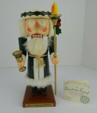 German Made 12 Inch Ghost of Christmas Present Wood Nutcracker (39) #1018/5000