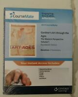 NEW CourseMate Access Code Gardner's Art Ages, Western Perspective Vol 1,14th Ed