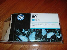 NEW! Oct. 2015! HP-80 Cyan Ink cartridge (C4846A) 350ml for Designjet 1050,1055