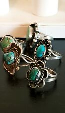Lot of 5 Ring Vintage Antique  Retro Navajo Old Pawn Southwest style Jewelry