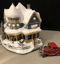 2000 Hawthorne Village Thomas Kinkade Holiday Bed And Breakfast & Car