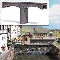 BNIB OO / HO BUSCH 7019 STONE BRIDGE KIT - MODEL RAILWAY / WARGAMES SCENERY