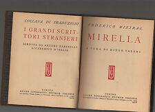 federico mistral - mirella - utet serie i grandi scrittori stranieri - marzdod