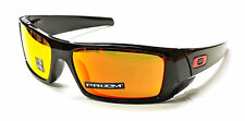 New Oakley OO9014-4460 Gascan Polished Black / Prizm Ruby Lenses