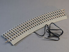 LIONEL FASTRACK 048 CURVE SECTION W TERMINAL WIRE train fast track 6-12043 12053