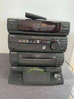 SONY HCD-xb3 Midi Hi-fi System 5 Disc CD Tape, Radio with Remote