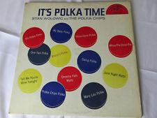 Polish Polka Album LP IT'S POLKA TIME STAN WOLOWIC & THE POLKA CHIPS