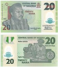 Nigeria 20 Naira 2016 P-34l UNC Uncirculated banknote