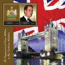 Micronesia- Royal Engagement of Prince William And Kate Middleton Stamp S/S MNH