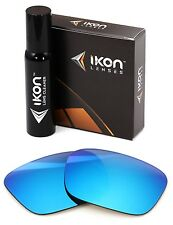 Polarized IKON Replacement Lenses For SPY Optic Helm Sunglasses Ice Blue Mirror