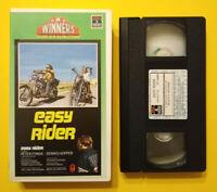 VHS Film Ita Azione EASY RIDER peter fonda dennis hopper no dvd cd lp mc (V189)