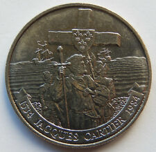 """1984 Canada """"Jacques Cartier 1534 - 1984"""" 1 Dollar Coin  SB5593"""