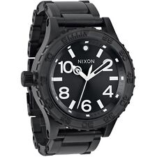 New in Box Nixon 51-30 TI All Black Men's Watch A351001 A351-001