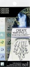 Ek Success Create Your Style with SWAROVSKI HOTFIX CRYSTALS 150 pc/Pkg-Cascade
