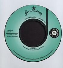 """ERMA FRANKLIN """"Light My Fire / Hold On"""" 45 (7"""", SOUL, BREAKS, CLASSIC, THE DOORS"""