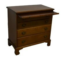 Biggs ( Kittinger ) Solid Mahogany Chippendale Style Chest of Drawers w. Key