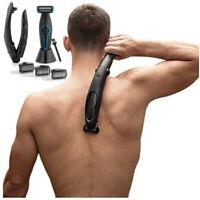 Elektrisch Wasserdicht Rasier Epilierer Körperrasierer Faltbare Rücken Beine