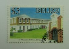 Belize SC #1197  THE MUSEUM OF BELIZE  Used $5 stamp