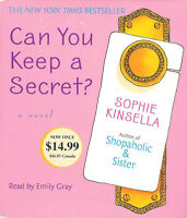Can You Keep a Secret? by Sophie Kinsella ~ 5-Disc CD Abridged Audio Book