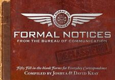 Formal Notices: Fifty Fill-in-the-Blank Forms for