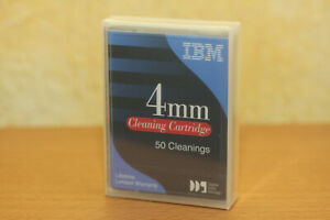 IBM 4mm DDS DAT Reinigungsband Kassette Cleaning Cartridge - 50 Cleanings
