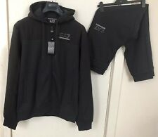 Armani EA7 Mens Shadow Hooded Full Tracksuit Size XXL Pit To Pit 23.5 Inches