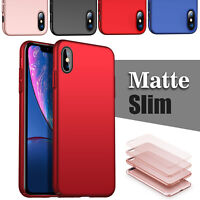 For iPhone XS Max XR X 7 8 6 6S Plus Supper Slim Ultra Thin Phone Case Cover