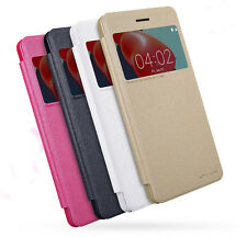 Nokia 6 Case, NEW LEATHER CASE- Sparkle Leather Case Cover For Nokia 6