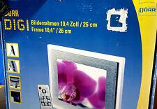 Dörr Digi Bildrahmen Digitaler Bilderrahmen 10.4 Zoll ALU -Restposten - NEU !