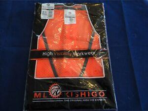 ML Kishigo - Mesh Reflective Safety Vest - 1194 Size 2X-3X NEW SEALED!
