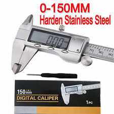 Brand New Stainless Steel Digital Vernier Caliper Micrometer  Guage 0-150mm AU