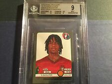 2016 PANINI EURO CUP ROOKIE Renato Sanches BGS 9 Swiss edition Benfica true rc.