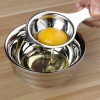 Stainless Steel Egg Yolk Filter Separator Cooking Kitchen Gadget Bakeware Tools
