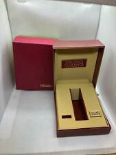 New Old Stock Vintage Seiko Empty Wrist Watch Box With Outerbox Red