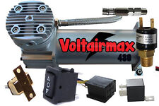 Air Ride Voltair Compressor Air Max 480 Air Horn Suspension 150 Switch/Relay
